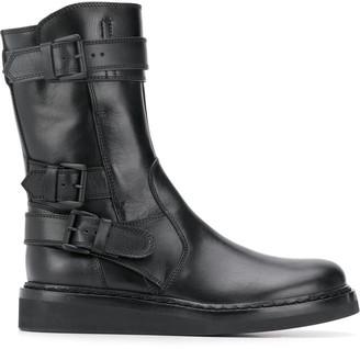 Ann Demeulemeester Tucson buckled boots