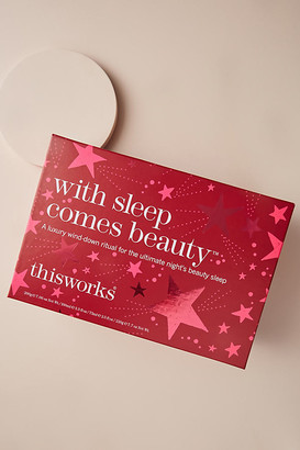 thisworks® This Works With Sleep Comes Beauty Gift Set By This Works in Red