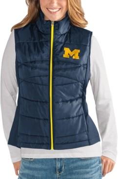G Iii Sports G-iii Sports Women's Michigan Wolverines Puffer Vest