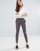 Selected Muse Skinny Pants in Tower Gray