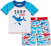 Asstd National Brand Boys Swim Trunk Set - Toddler