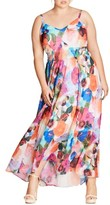 City Chic Plus Size Women's Pretty Day Maxi Dress