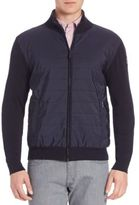 Façonnable Modern-Fit Quilted Nylon Jacket