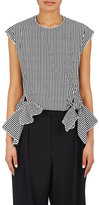Maison Rabih Kayrouz Women's Striped Poplin Top