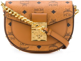 MCM Patricia Visetos-print crossbody bag