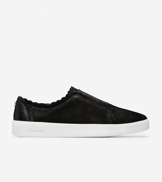 Cole Haan Grand Crosscourt Scallop Slip-On Sneaker