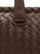 Bottega Veneta Brick intrecciato leather tote