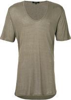 Unconditional scoop neck T-shirt