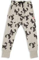 Munster Toddler's, Little Girl's, Girl's Butterfly Print Track Pants