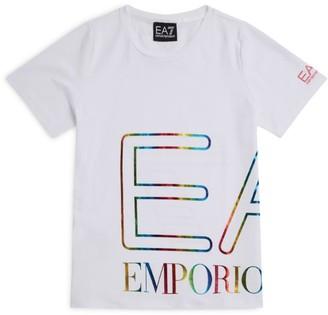 Emporio Armani Kids EA7 Logo Tape T-Shirt (4-14 Years)