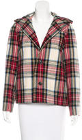 A.P.C. Hooded Plaid Jacket