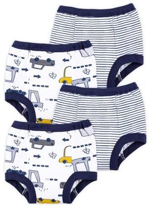 Little Star Organic Toddler Boy Training Pants, 4-Pack