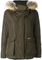 Woolrich 'W's Short Military' parka coat