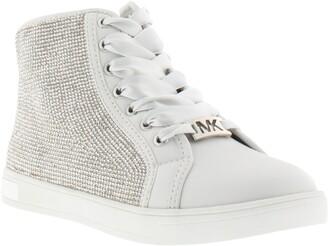 MICHAEL Michael Kors Ollie Light Crystal High Top Sneaker