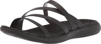 Merrell Women's Duskair Seaway Slide LTR Flat Sandals