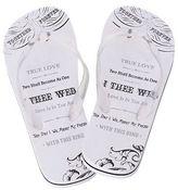 Lillian Rose Wedding Flip Flops