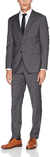Esprit Men's 097eo2m006 Suit, Grey (Dark 020)