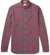 J.Crew Cooper Checked Washed-cotton Shirt - Red