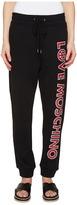 Love Moschino Logo Print Sweatpants Women's Clothing