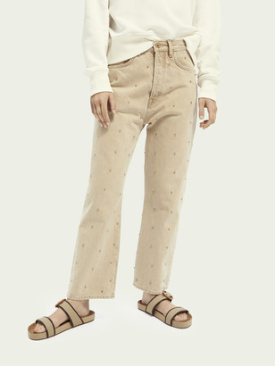 Scotch & Soda Extra boyfriend jeans Mushroom | Women