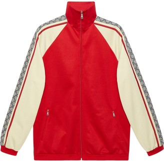Gucci Oversize technical jersey jacket