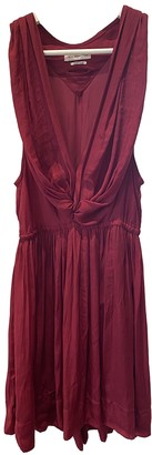 Etoile Isabel Marant Red Silk Dresses