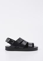 Marsèll black gradone wedge sandal