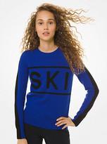 MICHAEL Michael Kors Nylon And Wool-Blend Ski Sweater