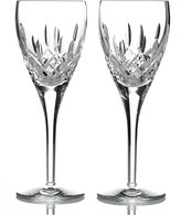 Waterford Stemware, Lismore Nouveau Wine Glasses, Set of 2