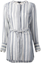Theory striped tunic - women - Silk/Cotton - M