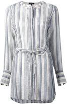 Theory striped tunic - women - Silk/Cotton - XS