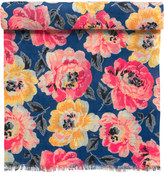 Cath Kidston Peony Bloom Woven Shawl