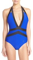 Ted Baker Women's 'Ralinda' Halter One-Piece Swimsuit