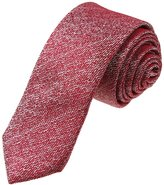 YAEF0002 Red String Popular For Him Woven Silk Tie Gift Idea For Graduation Skinny Tie By Y&G
