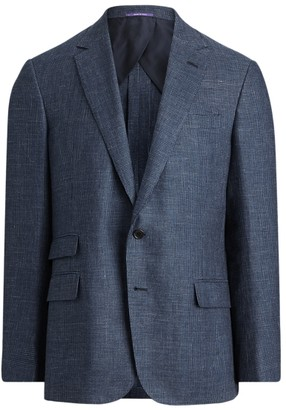 Ralph Lauren Kent Tick-Weave Suit Jacket