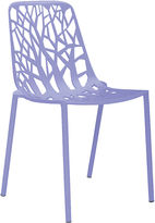 Janus et Cie Forest Outdoor Side Chair, Lilac