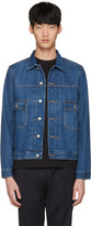 Paul Smith Blue Denim Western Jacket
