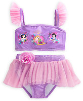 Disney Princess Deluxe Swimsuit for Girls - 2-Piece