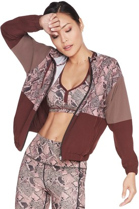 Skechers Women's SKECHWEAVE Hooded Full-Zip Jacket
