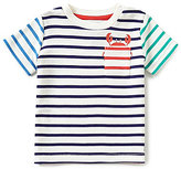 Joules Baby/Little Boys 12 Months-3T Striped Crab-Pocket Tee