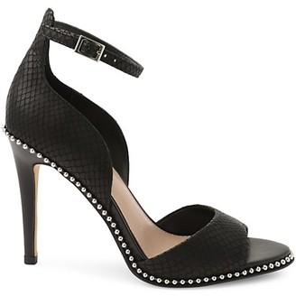 BCBGeneration Jessika Suede Ankle-Strap Sandals