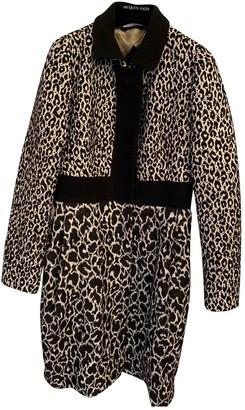 Aquilano Rimondi Black Wool Coat for Women