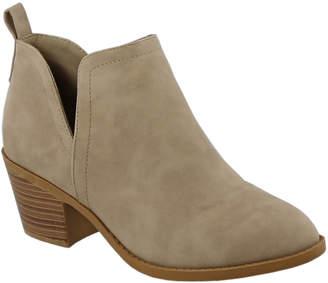Top Moda Women's Casual boots KHAKI - Khaki Zandra Bootie - Women