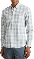 John Varvatos Mitchell Plaid Slim Fit Button-Down Shirt