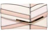 Dorothy Perkins Womens Pastel Asymmetric Panel Purse- Pink
