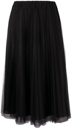 P.A.R.O.S.H. Parallel pleated maxi skirt