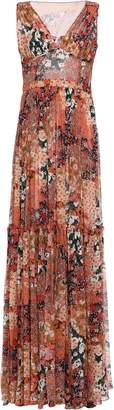 Missoni Tiered Floral-print Silk-georgette Maxi Dress