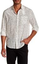 Vince Pattern Pocket Trim Fit Shirt