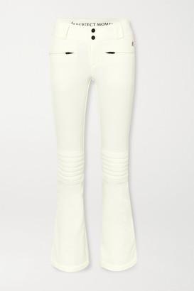 Perfect Moment Aurora Flare Padded Ski Pants - Cream