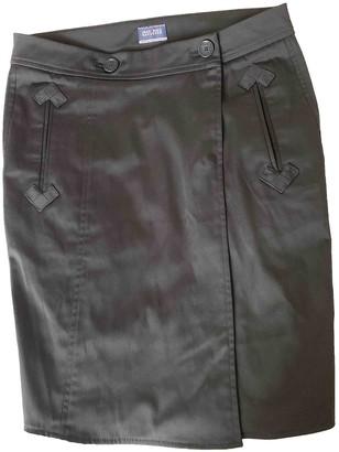Jean Paul Gaultier Black Cotton - elasthane Skirt for Women